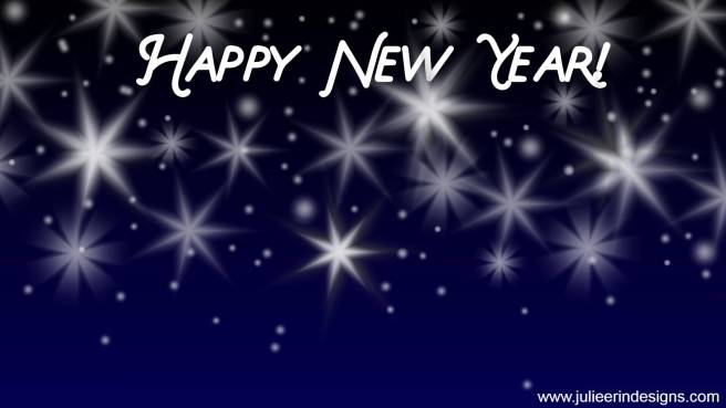 happy new year virtual background