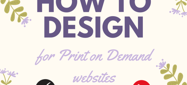 how to design print on demand websites