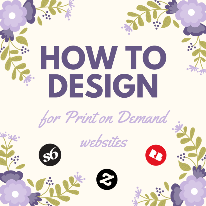 how to design print on demand websites