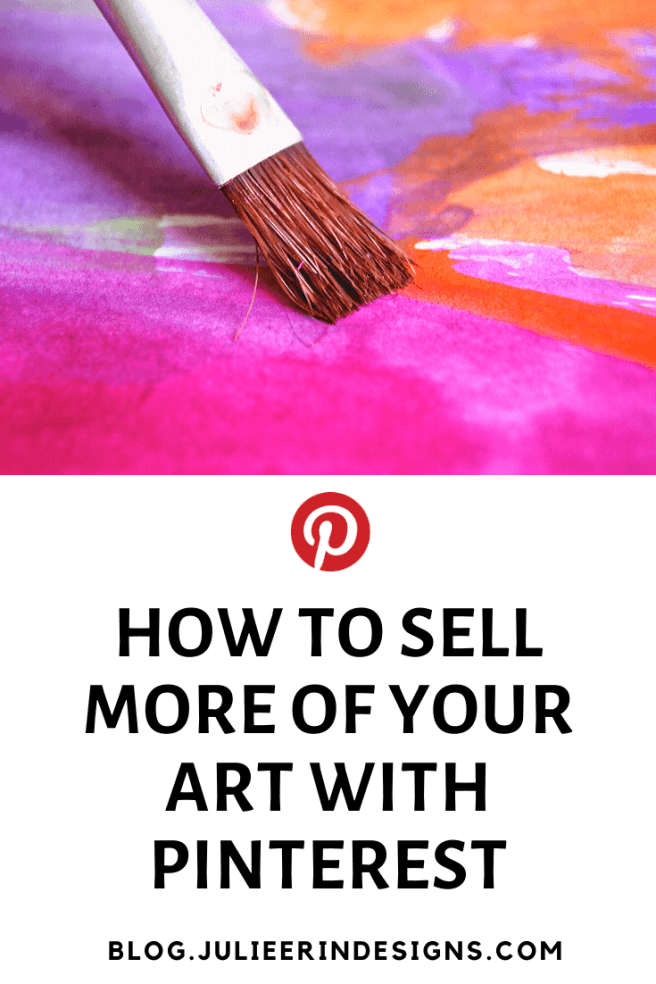 how to sell art with pinterest