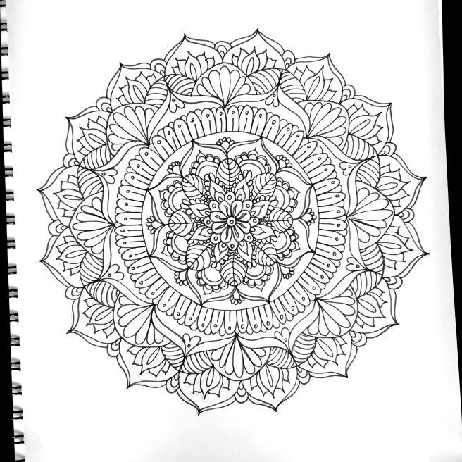 mandalas template diy art drawing