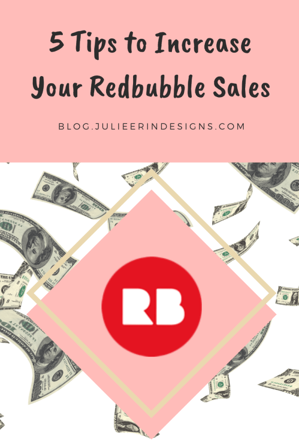 increase sales on redbubble
