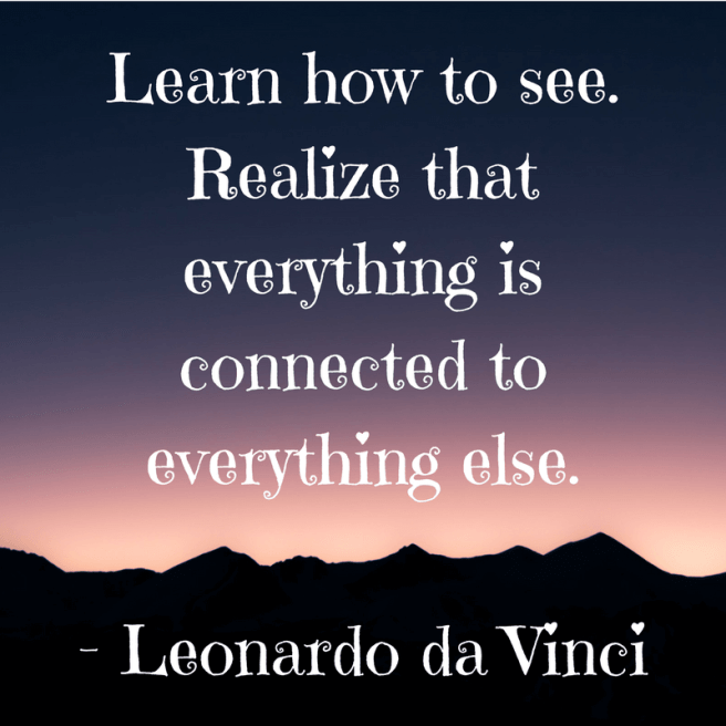 inspirational motivational quote da vinci famous artist quote