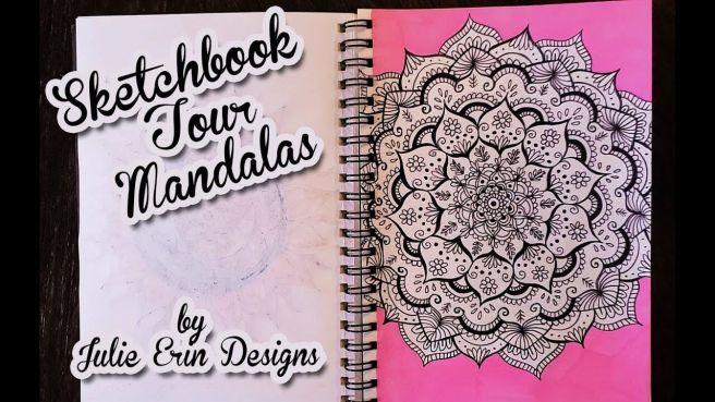 mandalatober sketchbook tour youtube video