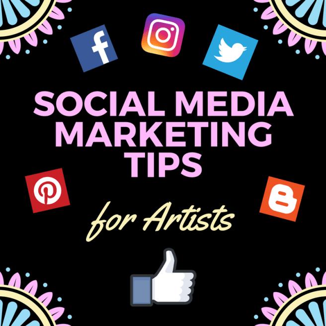 social media marketing tips for artists