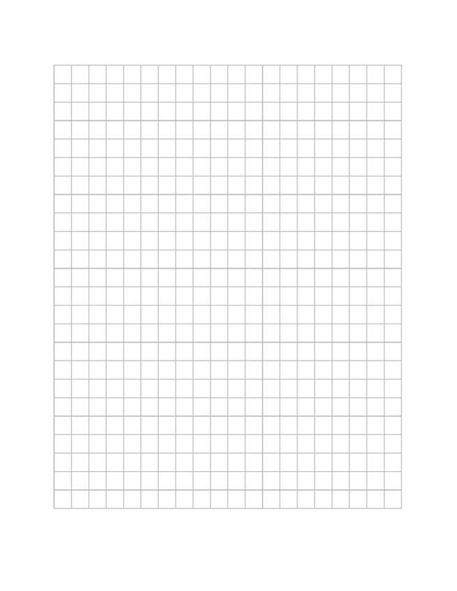 pattern drawing grid template