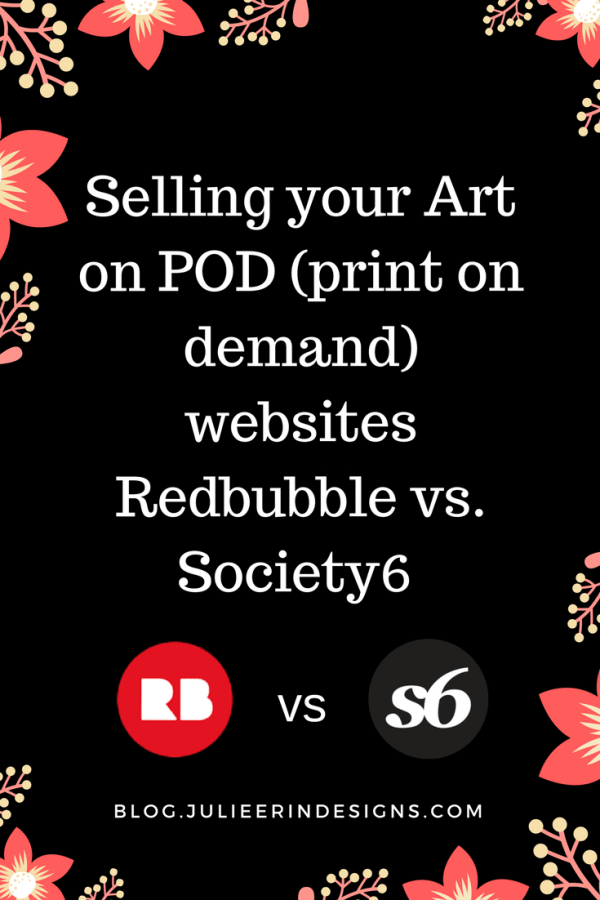 redbubble vs society6