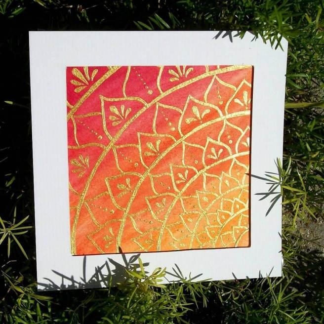 sunfreestar floral mandala
