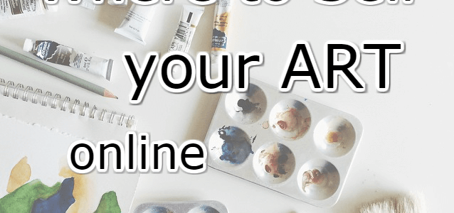 where to sell art online
