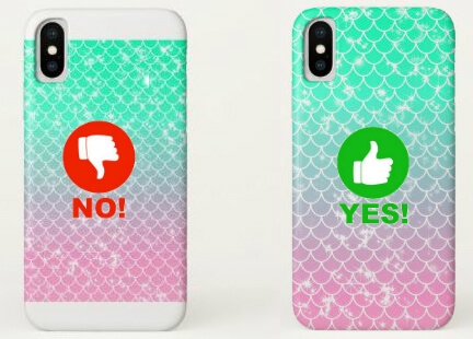 mermaid cell phone case example
