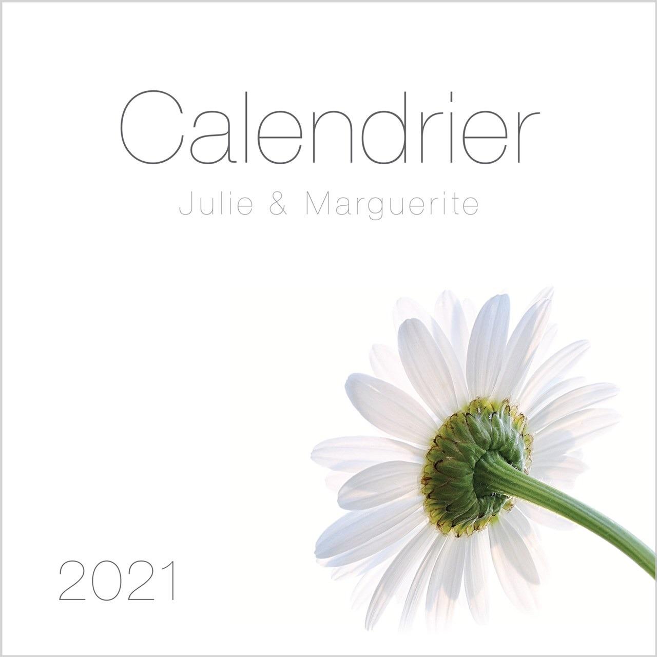 Julie et Marguerite photo Calendrier 2021