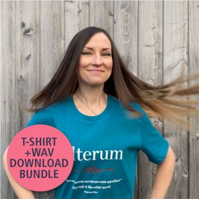 alterum Organic T-Shirt + WAV Downloads Bundle