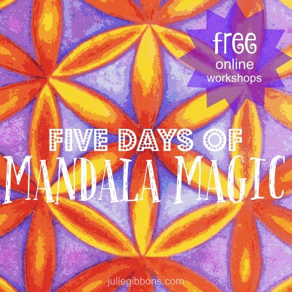 The Five Days of Mandala Magic is in full swing!