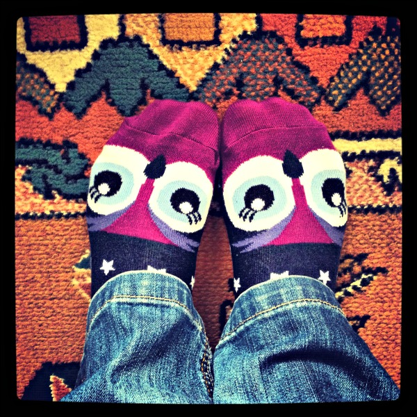 owl socks by M&S