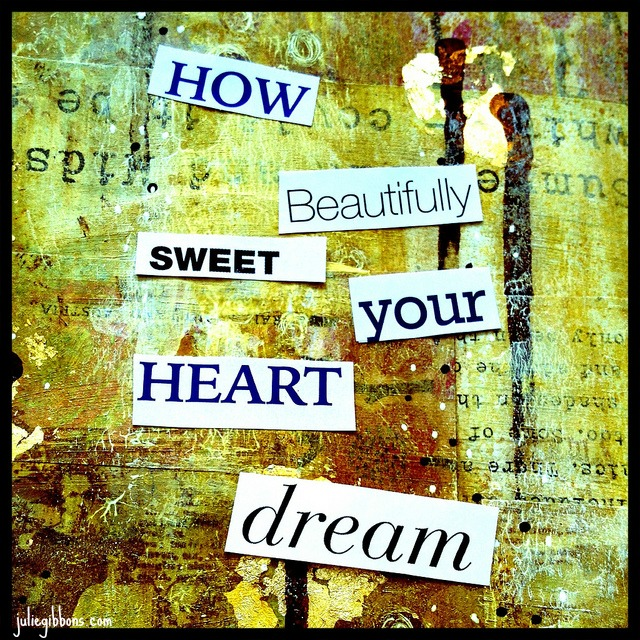 The unconscious dreams of your heart