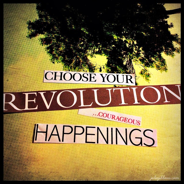 Your personal (soul) revolution