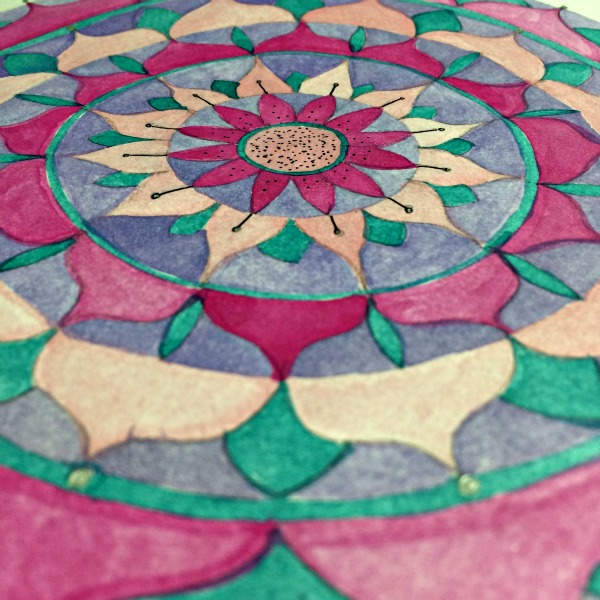 lotus flower mandala