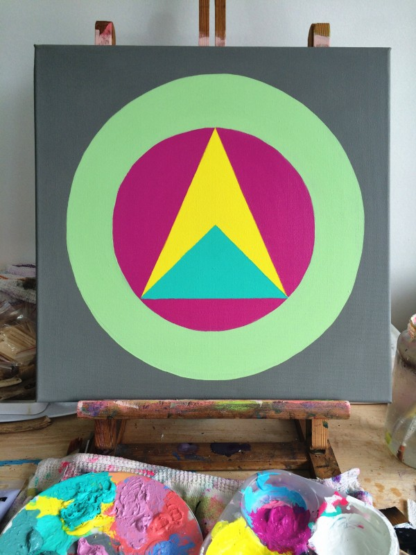 Great Round of Mandala Stage Four art canvas