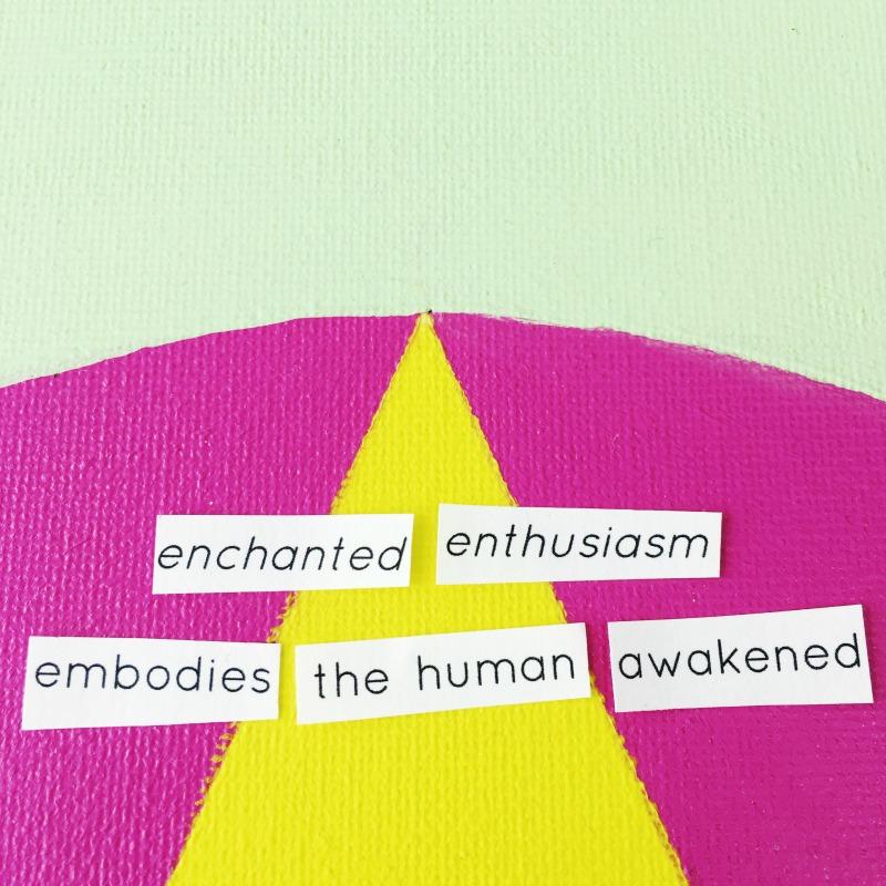 enchanted enthusiasm mandala