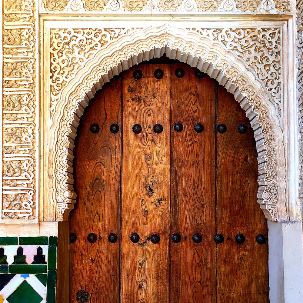Doorway Alhambra Granada