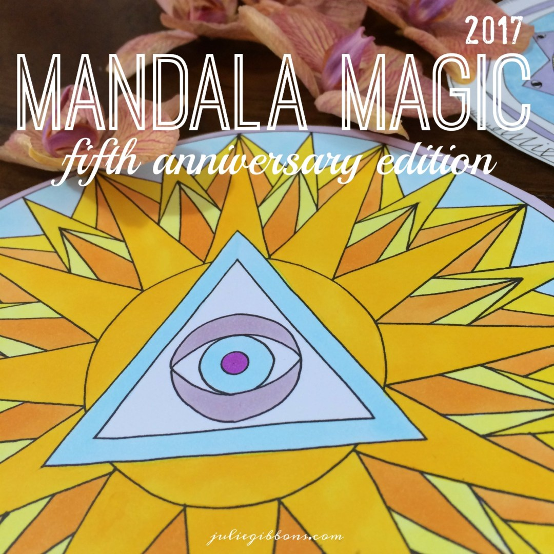 Mandala Magic 2017 Badge