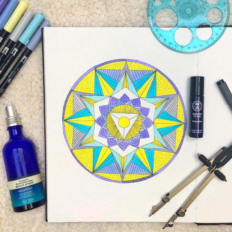 Sun Spot Celtica Mandala Image