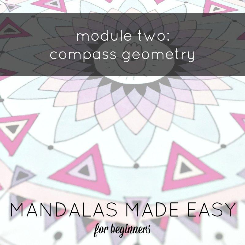 MANDALAS MADE EASY module one BADGE