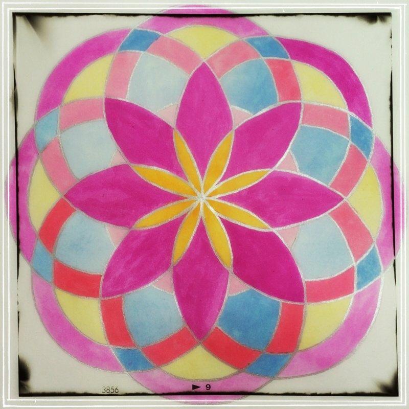 Octo Petal Mandala Complete image