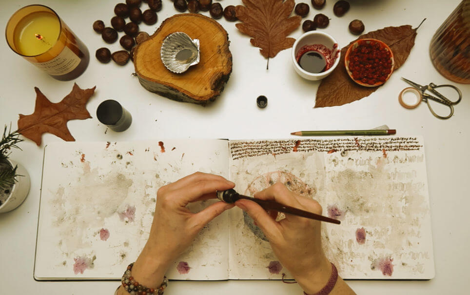 ASHES to ASHES : a guided art ritual at Samhuinn