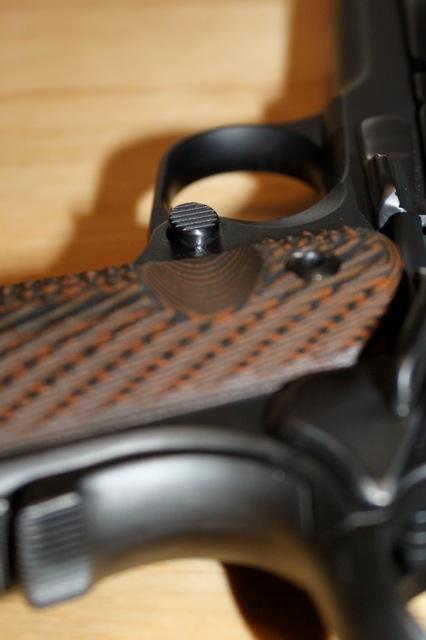 S&W Pro Series 9mm 1911 - Pete Single Custom, Ion Bond Black