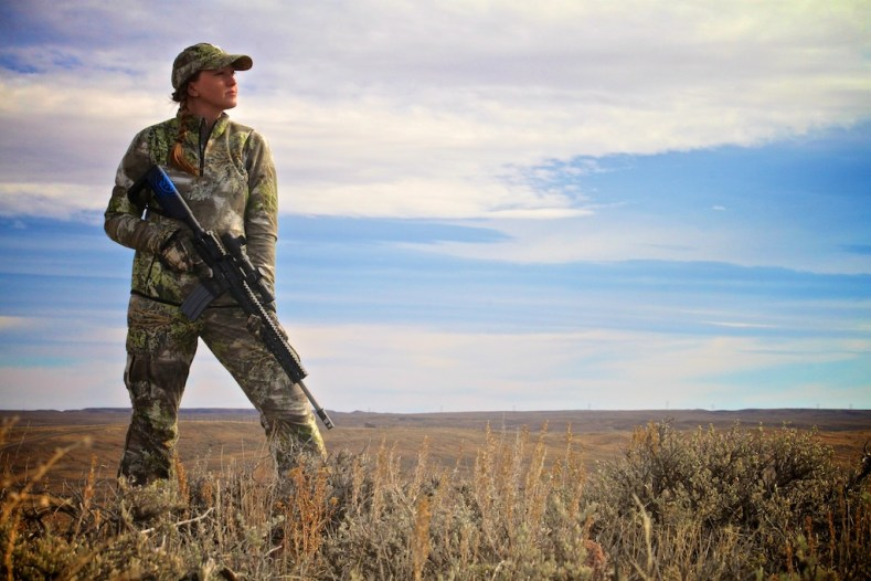 Coyote hunting in Montana