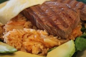 Close Up - Kimchi Fried Rice
