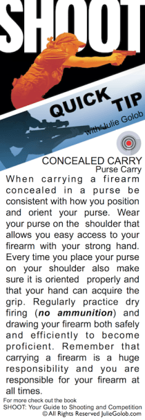 SHOOT Tip - Purse Carry Consistency