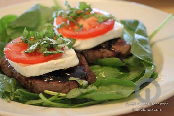 Field to Fork - Venison Caprese