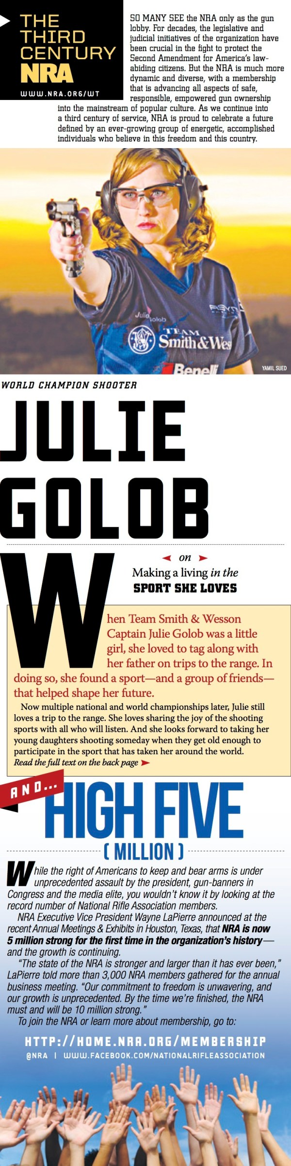 Third Century NRA - Julie Golob Page 1