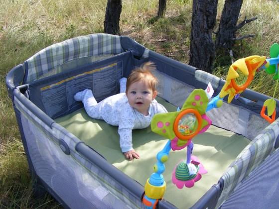 Julie_Golob_elk_hunting_camp_packnplay