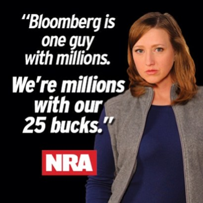 Bloomberg NRA Message Julie Golob