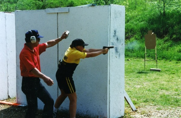 With Rob Leatham's help, I stopped trying to shoot like a guy and started to use my own body to help me control recoil.