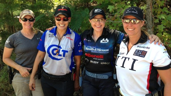 The women of Team USA's Ladies Production Team - Sara Dunivin, Maggie Reese, Julie Golob and Cindi Thomas