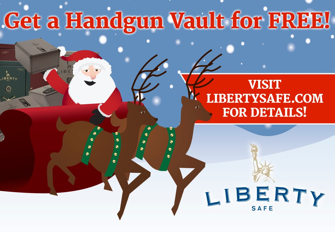 2016 Holiday Promotion from Liberty Safe