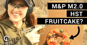Fruitcake. The new ballistic gel? JulieG.TV
