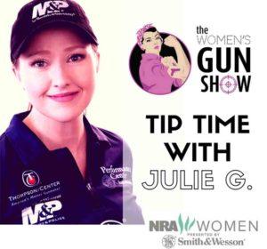 Julie Golob Joins Women's Gun Show Podcast