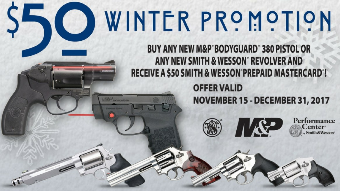 Smith & Wesson $50 Winter Promotion - Julie Golob