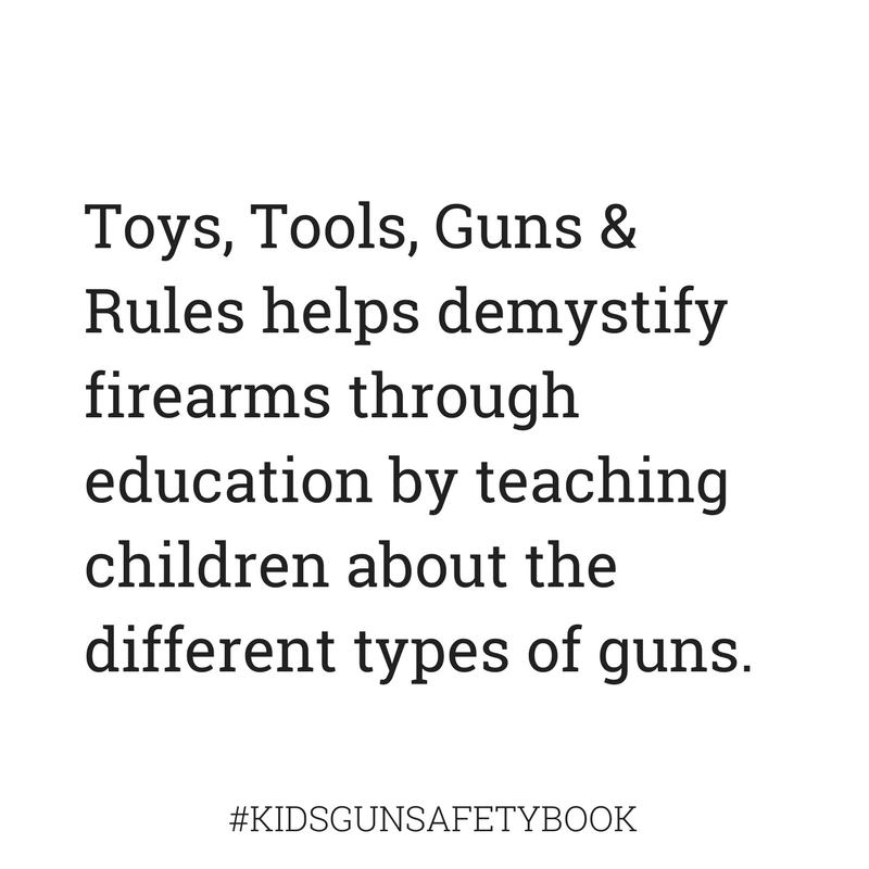 Demystify through education #kidsgunsafetybook