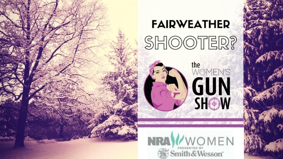 Women's Gun Show Fairweather Shooter Julie Golob