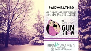 Women's Gun Show Fairweather Shooter Julie Golob
