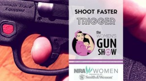 Womens Gun Show Shoot Faster Trigger Julie Golob