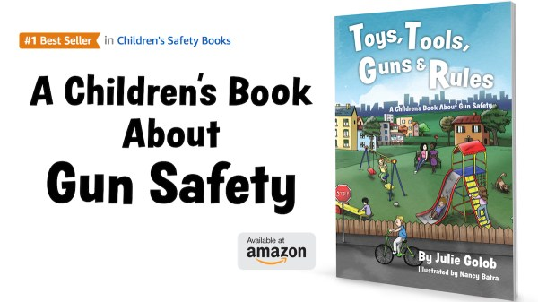 Julie Golob's Children's Book About Gun Safety Hits #1