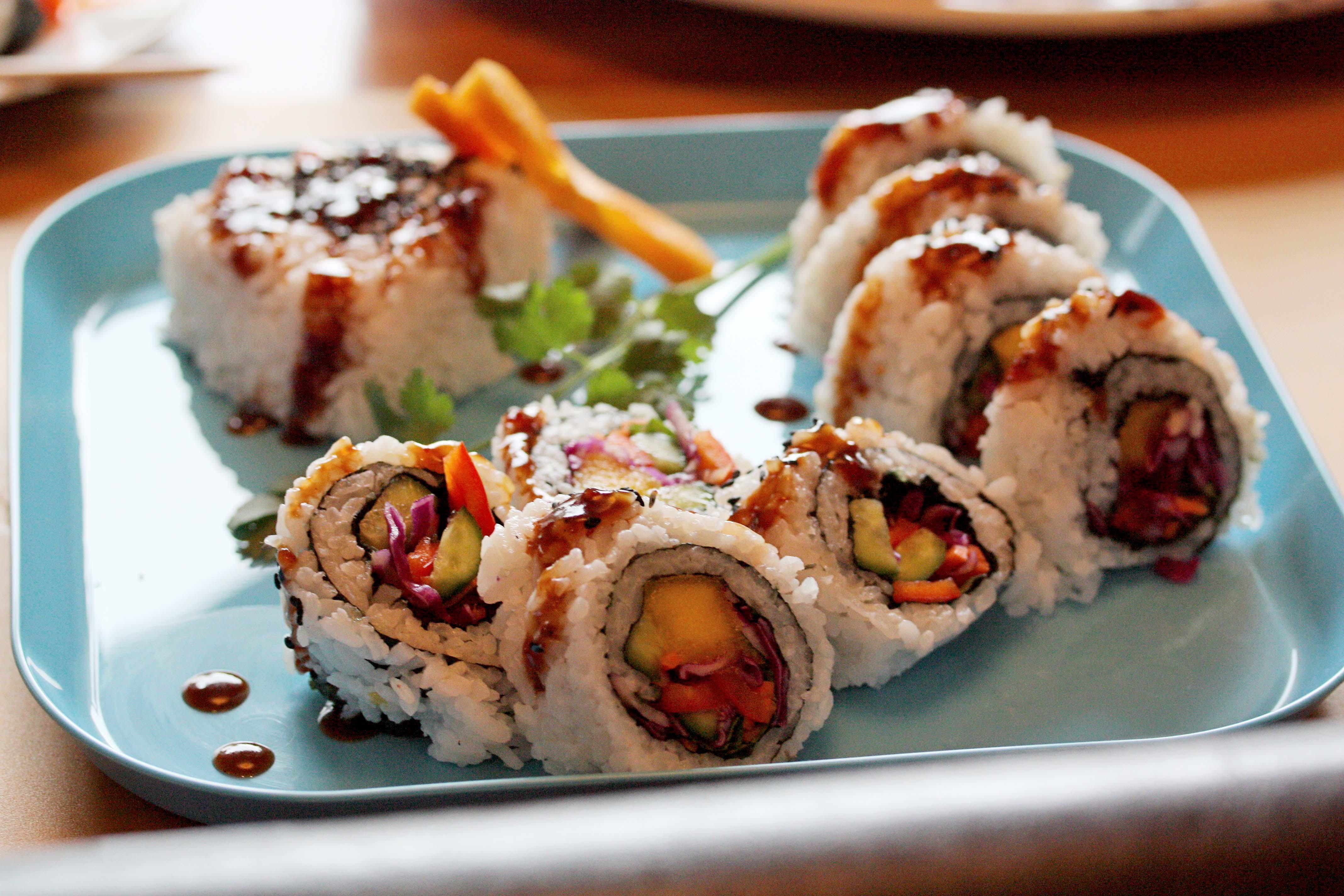 gluten-free, vegan, sushi class, online, Julie Hasson