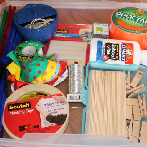DIY Craft Bin with STEM Focus for Boys Ages 7-11